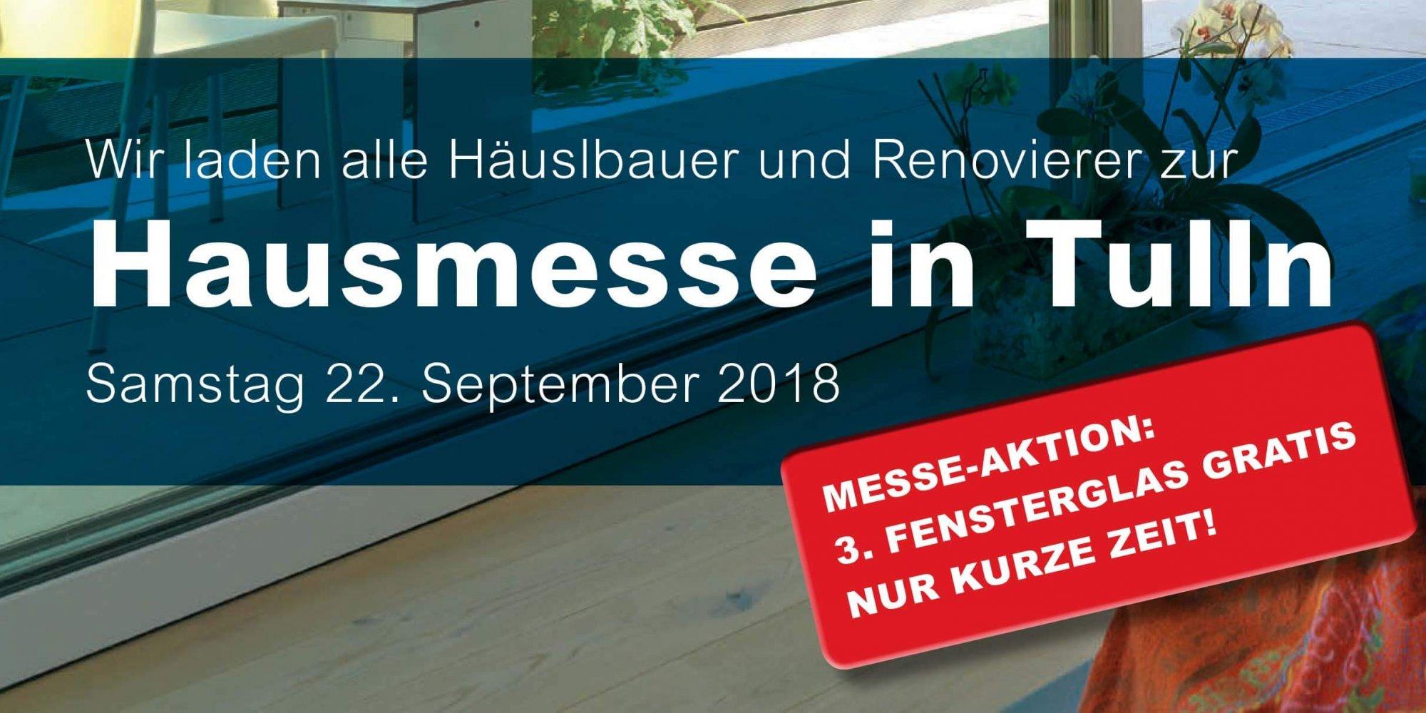 Hausmesse 22.09.2018